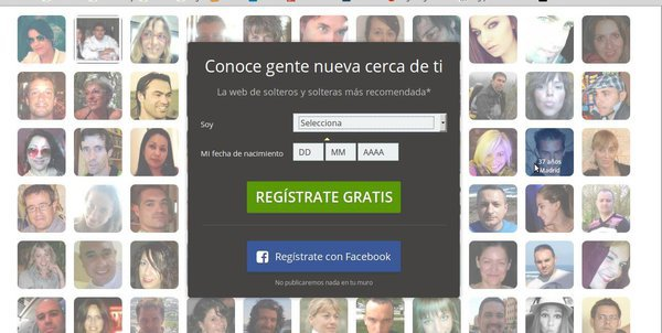 Meetic registro