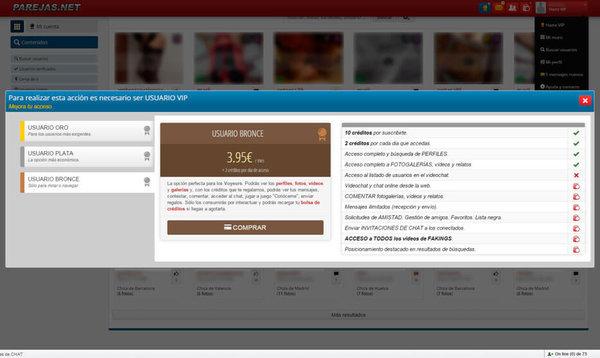 Usuario Bronce en Parejas.net