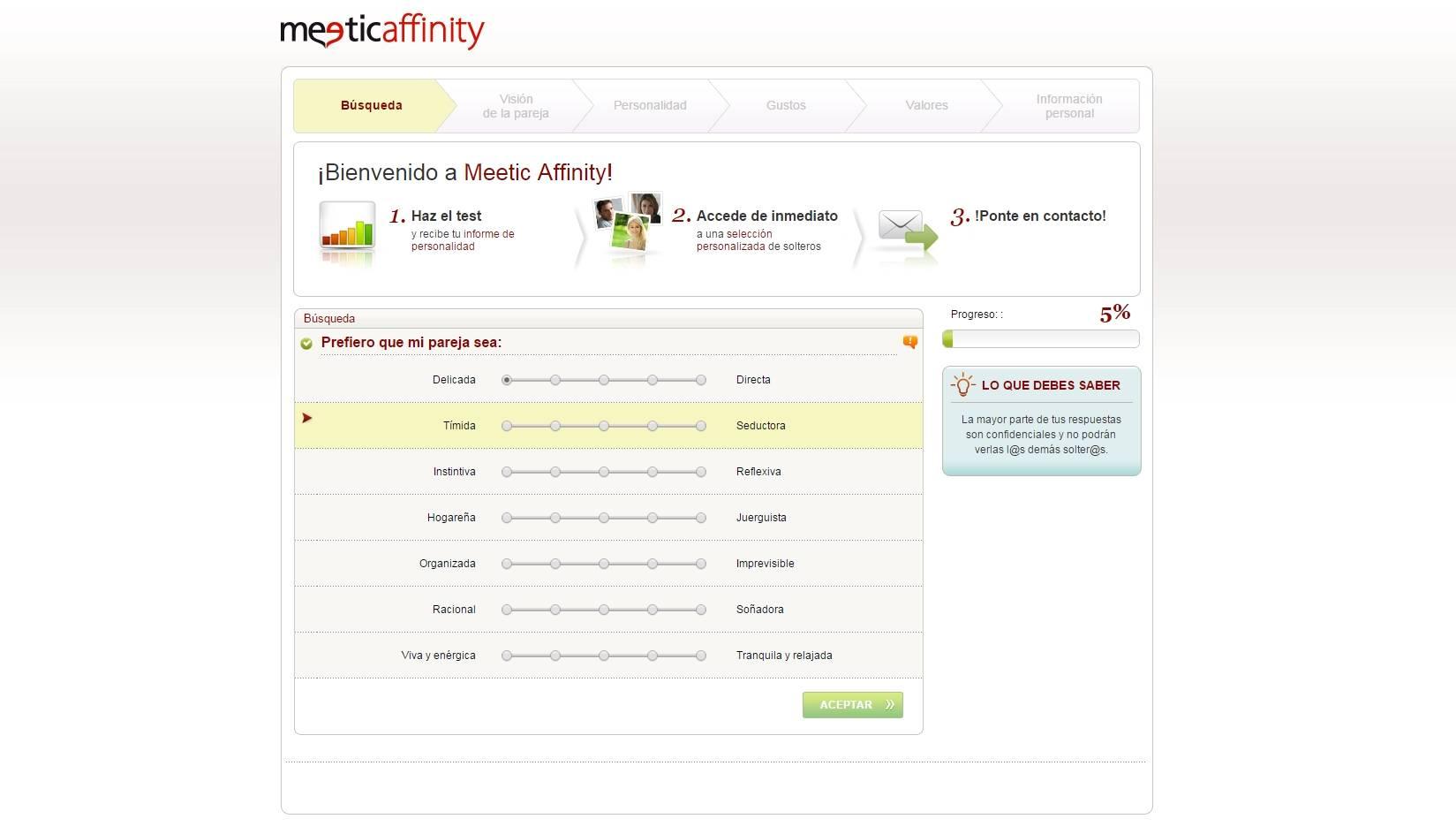 Meetic affinity gratuit