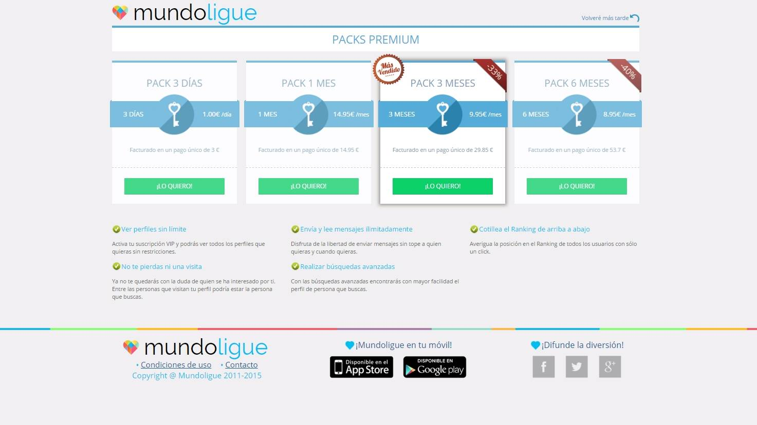 Mundoligue gratis