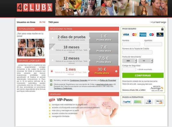 4club precios