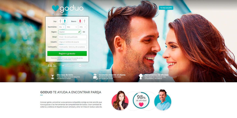 Encontrar pareja en Goduo
